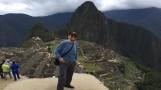 El 'Señor Barriga' quedó maravillado con Machu Picchu