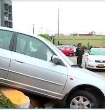 Surco: sujeto en estado de ebriedad ocasiona accidente de tránsito