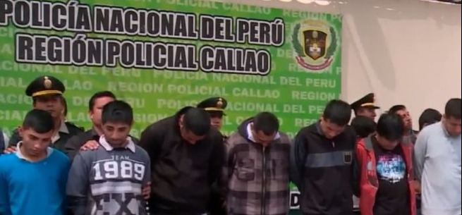 Callao: policía desarticuló varias bandas de delincuentes
