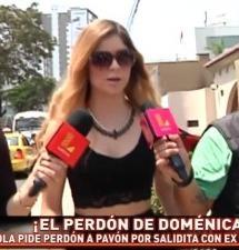 Mira el perdón de Doménica Delgado a Antonio Pavón