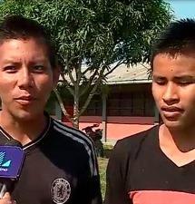 Ucayali: alumnos participaron en cortometraje sobre deserción escolar