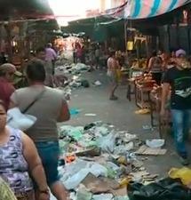 Iquitos: comerciantes de mercado denuncian maltratos durante paro