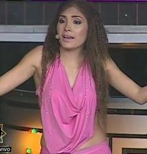 Katia imita a Maricarmen tras la presentación de Thalía de Yo soy