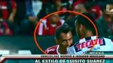 Mira el momento en que venezolano Arango muerde a rival