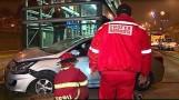 Cercado de Lima: Taxista invade carril exclusivo del Metropolitano