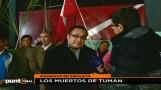 Trabajadores de Tumán protestaron contra Edwin Oviedo en la Videna