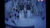 Escaleras eléctricas causan pánico en China y en todo el mundo